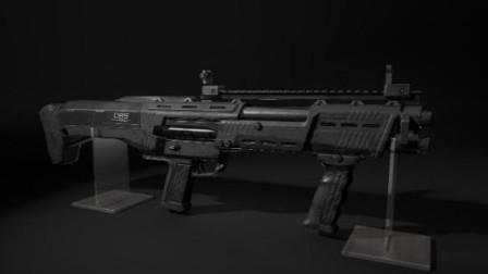 绝地求生空投新武器DBS双管散弹枪吃鸡