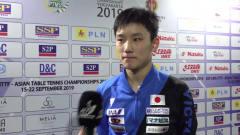 张本智和:谢谢球迷的关注,但打比赛时就和我