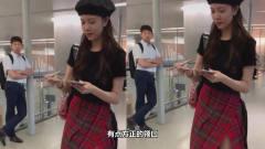 宋妍霏专注为粉丝签名,不知自己成别人的风景