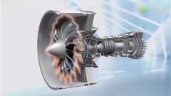 涡扇喷气发动机三维动画详解