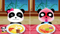 中华美食 奇奇妙妙吃面条辣的直喷火~宝宝巴士游