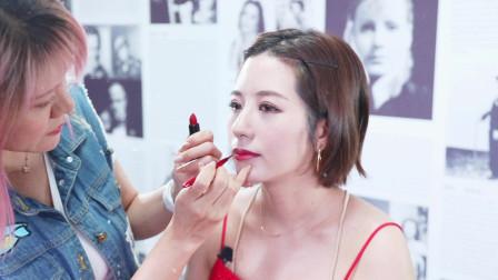 日本写真美女模特做客玫玫化妆课堂,这可是她