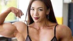 """韩国美女""""魔鬼""""身材,一天20个鸡蛋五斤牛肉,"""