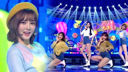 韩国美颜主播女团WeGirls,只要看着心情就会变好