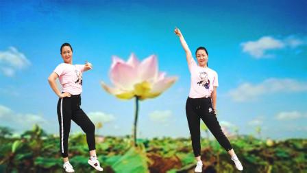 花想容广场舞《饿狼传说》火爆网络劲爆流行舞