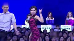 女神级美女现场大跳韩国舞蹈,台下鼓掌声一片