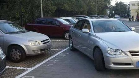 教你判断车头左右角和障碍物的距离,这个方法,新手也能很快掌握