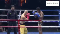 武僧一龙VS泰拳王子,真正的高手过招胜负就在一