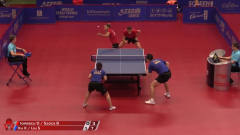 2019瑞典公开赛混双第一轮集锦:许昕/刘诗雯VS伊
