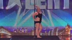 体重338斤的钢管舞女郎,成功登上达人秀,看完