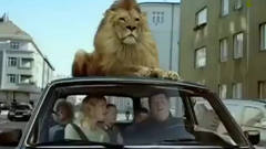 《创意广告》欧美保险之狮子篇,太可怕了