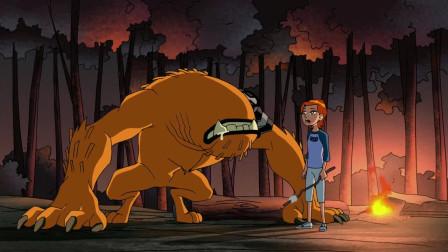 少年骇客:小班变身打怪兽,堂妹居然还敢恶搞他