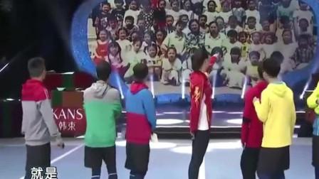 中国女排惠若琪空降综艺节目,主持人都要踮脚