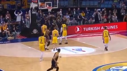 这才是团队篮球,欧洲篮球联赛常规赛10佳球