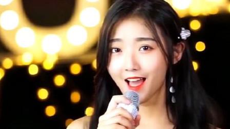 广东美女翻唱《天下有情人》画面太美了,是心