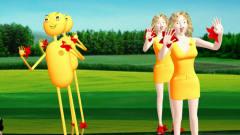 美女机器人广场舞搞笑视频