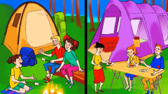 推理动画:这两个家庭当中,哪一个比较有钱?