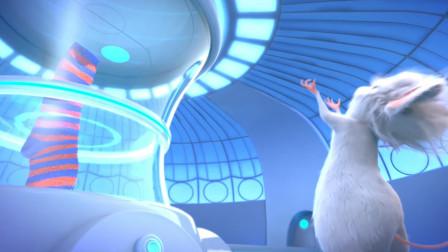 搞笑动画:老鼠将臭袜子练成汁,放进*酪给人吃
