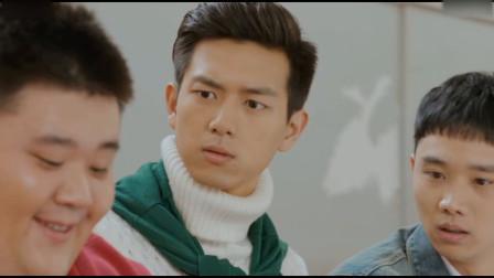 李现在篮球场上,紧盯着啦啦队美女,张若昀在