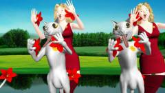 美女猫猫广场舞搞笑视频