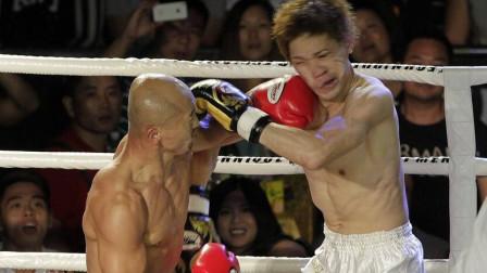 韩国拳手将一龙打到读秒,结果却被KO,一龙的愤
