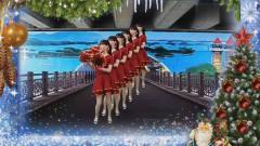 广场舞《最美俺家乡》抒情音乐 动感花球舞 灵动