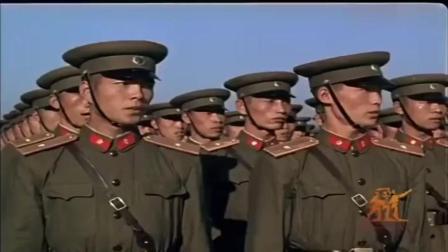 珍贵历史录像国庆10周年阅兵红旗检阅车!新中国