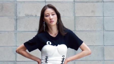 韩国超美时尚美女,完美长相清纯十分漂亮,好
