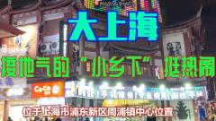 上海大都市,也有个接地气的小乡下很热闹的步