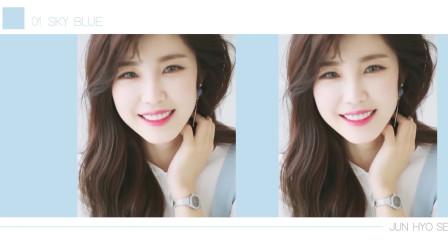 韩国清纯美女,出尘如仙,令人不敢逼视!