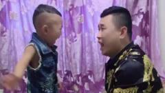 搞笑视频:儿子不听话,看爸爸怎么整治他,说