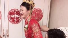 搞笑视频:闹洞房,新郎不配合,新娘和边上人