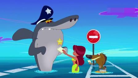 搞笑动画:这保险箱真结实,狗狗把整个小岛炸