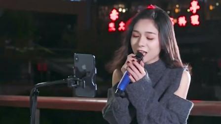 美女翻唱一首张宇的《月亮惹的祸》真好听,好