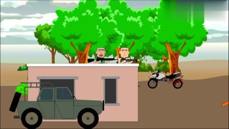 绝地求生搞笑动画:飞机内被人逼着跳伞,决赛