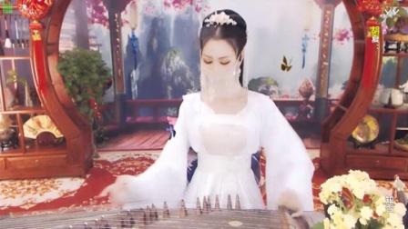 #音乐最前线#古典风美女古筝弹奏一曲《知否知否
