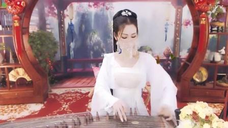#音乐最前线#古典美女古筝弹奏一曲《红颜旧》