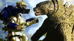 哥斯拉VS机械基多拉,怪兽之王哥斯拉VS机器怪兽