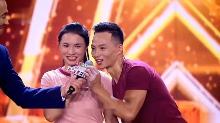 中国达人秀 第六季:钢管舞表演很成功,精彩爆