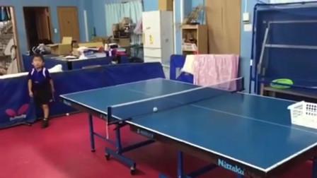 丁俊晖算啥,这个才是未来的乒乓球冠军!