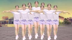 热门DJ广场舞《美美哒》,舞步优美易学,美女可