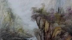 山水画教程刀画零基础教程刀画自学视频之秋天