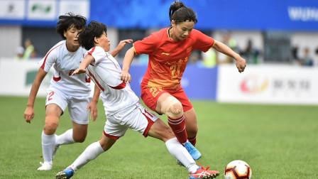 军运会决赛-中国女足1-2不敌朝鲜,遗憾无缘冠军