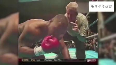 泰森在日本遭遇强敌,硬抗对手200拳失去知觉