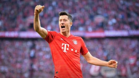 德甲-莱万创纪录帕瓦尔世界波,拜仁2-1柏林联合