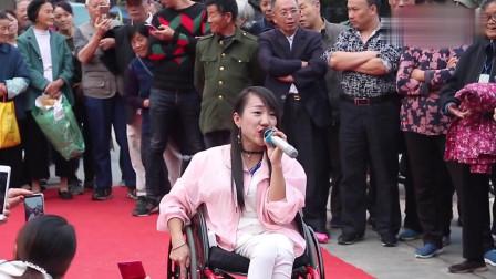 音乐:轮椅上的女歌手,回忆悠长,一听就入心