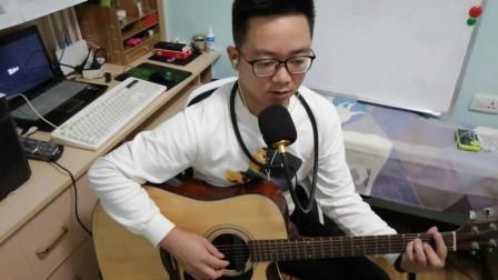吉他弹唱《贝加尔湖畔》,李健不愧为音乐诗人