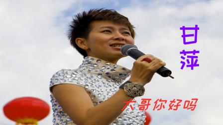 90年代流行歌曲,甘萍演唱《大哥你好吗》,时代