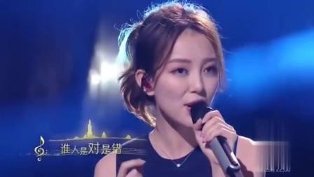 美女汪小敏翻唱《笑看风云》,郑少秋为她鼓掌