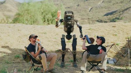 """【可取代传统士兵的智能机器人】""""波士屯儿"""""""